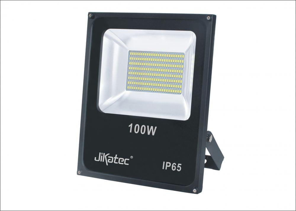 REFLETOR LED 100W JIKATEC BRANCO FRIO