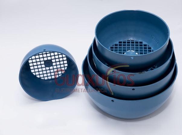 TAMPA DEFLETORA MODELO WEG 112 - PLASTICA