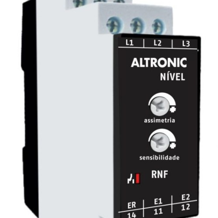 RELE DE NIVEL C/FALTA DE FASE RNF ALTRONIC 220V