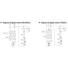 CHAVE DE PARTIDA 220V CPS 12 (7,0 a 10,0)  220V SOPRANO