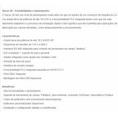 INVERSOR FREQUENCIA VACON20 7,5CV 220V - 136G6217