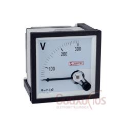 VOLTIMETRO AN. 0-300VAC 72MM SIBRATEC