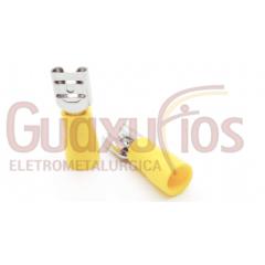 TERMINAL PRE-ISOLADO FEMEA 4,0 - 6,0 MM AMARELO